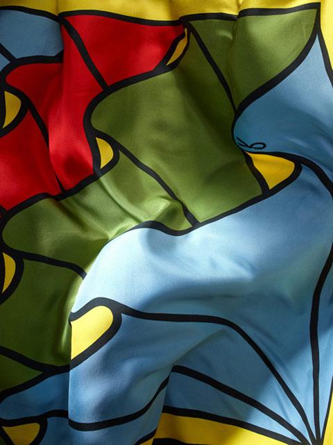 Martin Klimas silk scarves