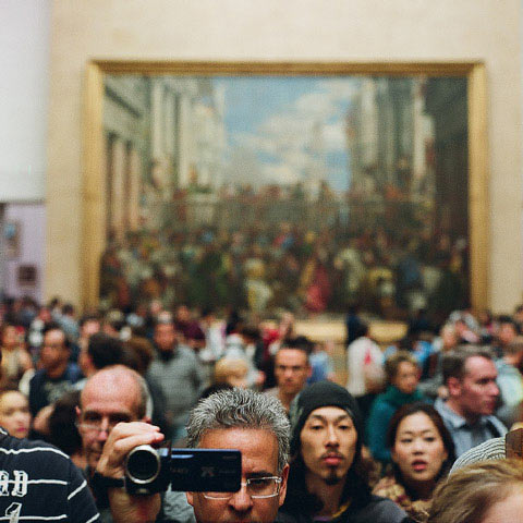 """Musee du Louvre, Paris"" by Anthony Georgis"