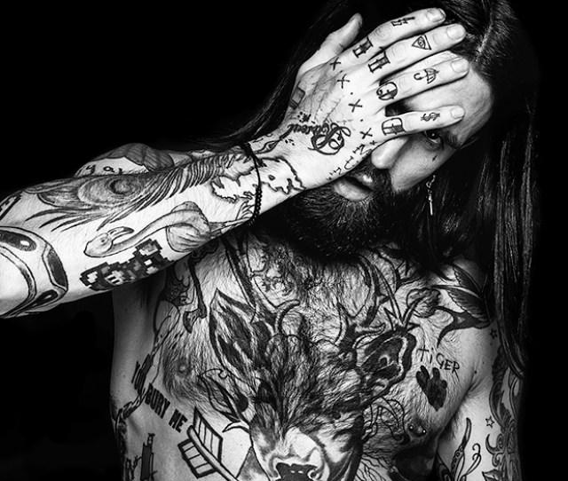 Nude Photo Series Celebrates The Tattooed Male Model