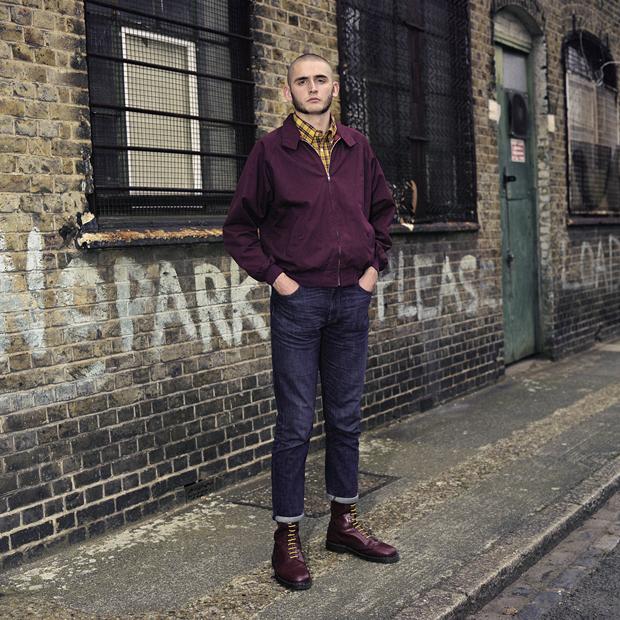 009 Chris Skinhead London 2014 80s Fashion For Men