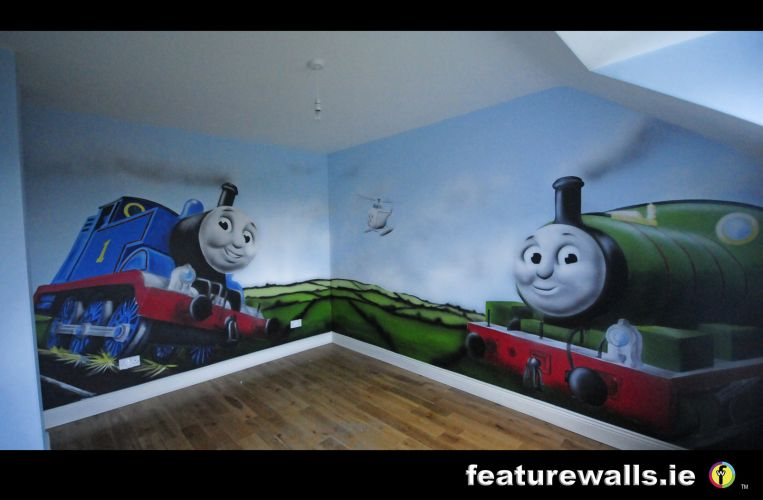 Kids Murals Childrens Rooms Decorating Kids Rooms Super