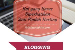 hal yang harus diperhatikan saat pindah hosting