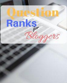 ranks for blogger