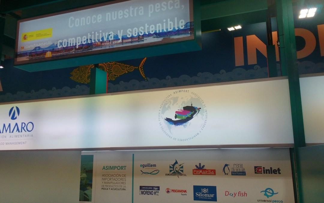 FEDACOVA APOYA A ASIMPORT EN LA FERIA SEAFOOD EXPO DE BRUSELAS