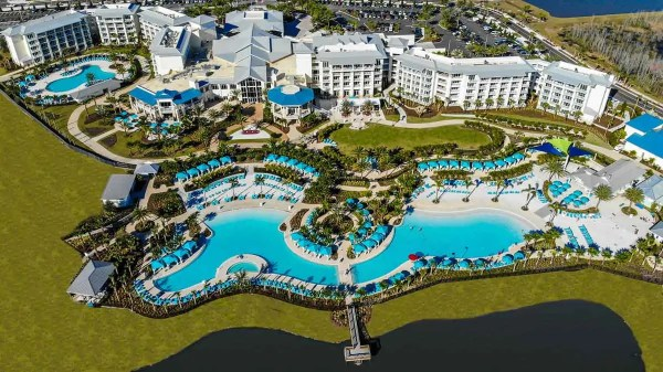 Aerial photo of Margaritaville Resort home of the 2021 FEDC Conference