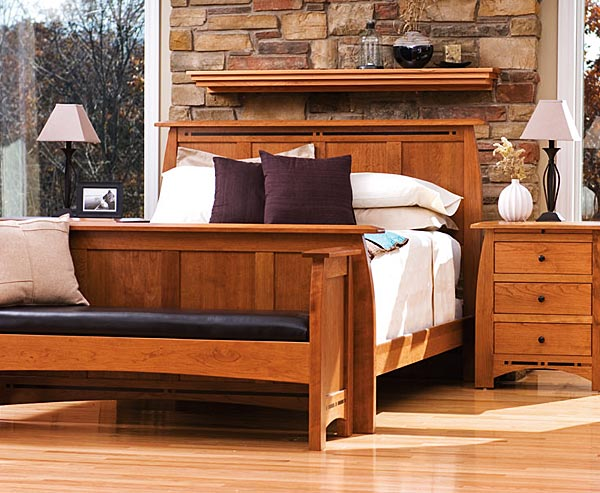 stickley bedroom | mission bedroom furniture | craftsman bedroom