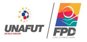 logo UNAFUT