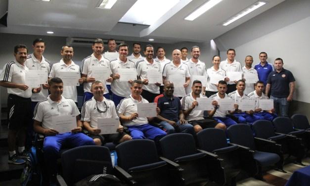 Preparadores físicos destacan apoyo de la FEDEFUTBOL