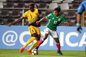 MEXICO VS ANTIGUA SUB 20 CB