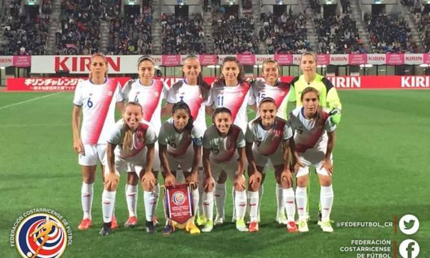 Femenina disputó primer juego ante Japón