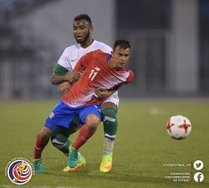 CRC vs Arabia Saudita Sub 20 Amistoso mayo 2017
