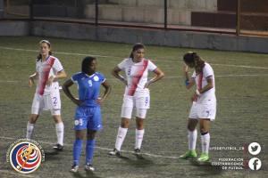 CRC vs NIC eliminatoria Sub 20 femenina 2017-2
