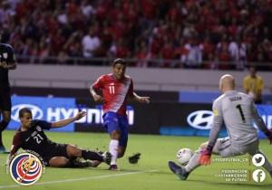 CRC vs USA Johan Venegas marzo 2016