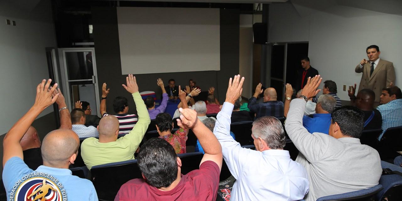 Asambleístas satisfechos con buena administración de la FEDEFUTBOL