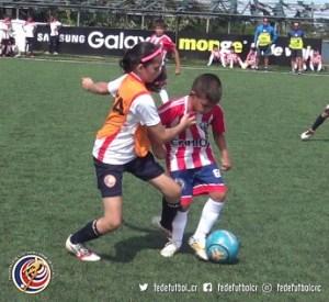 Nicole Ferreto Brenes, Escuela de Fútbol FEDEFUTBOL (3)