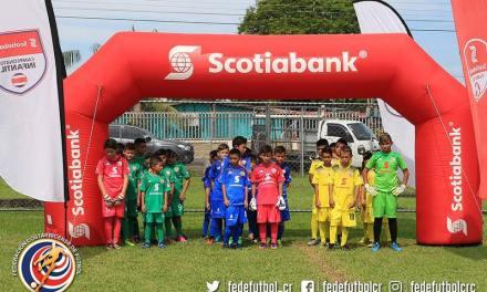 Guápiles vivió el torneo Scotiabank-FEDEFUTBOL