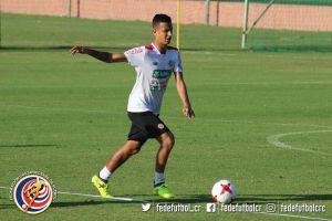 Greivin Fonseca jugador Sele Sub 17-2