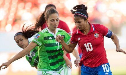 Selección femenina recibirá a México