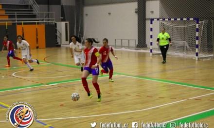 Femenina de Sala saca buen balance ante Uruguay