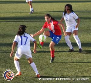 Diana Araya CRC vs El Salvador Juegos Centroamericanos 2017