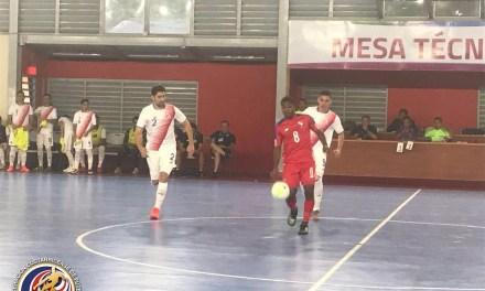 Futsal inició participación en Juegos Centroamericanos