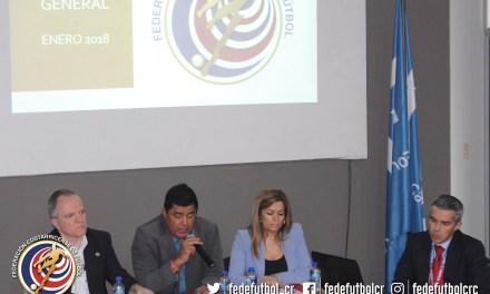 Asamblea aprobó presupuesto de la FEDEFUTBOL