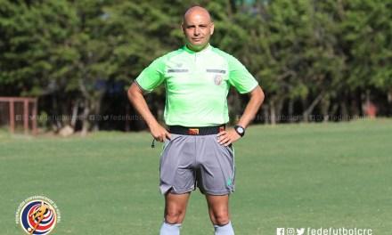 Andrey Vega, el árbitro de la Final ida de Ascenso
