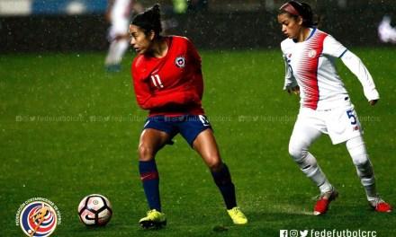 Femenina empata en segundo ensayo con Chile