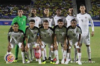 Dura derrota ante Colombia