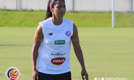 """Shirley Cruz: """"Los equipos siempre buscan ganarle a Costa Rica"""""""