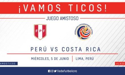 La Sele enfrentará a Perú previo a Copa Oro