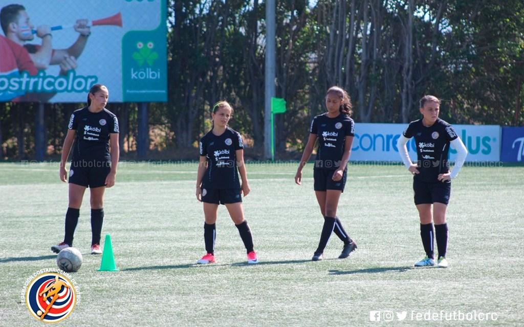 Sub 17 femenina lista para enfrentar torneo de UNCAF