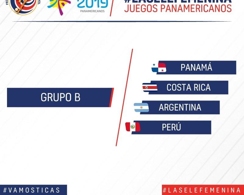 La Sele femenina ya tiene rivales para los Juegos Panamericanos Lima 2019