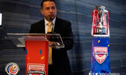 Rodolfo Villalobos: «Es un orgullo ser sede de la Liga de Campeones Sub 13»