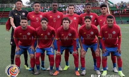 Costa Rica gana en debut de torneo sub 18