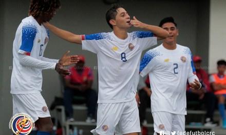 Goleando, ticos sellan pase a semifinales en Torneo sub 18