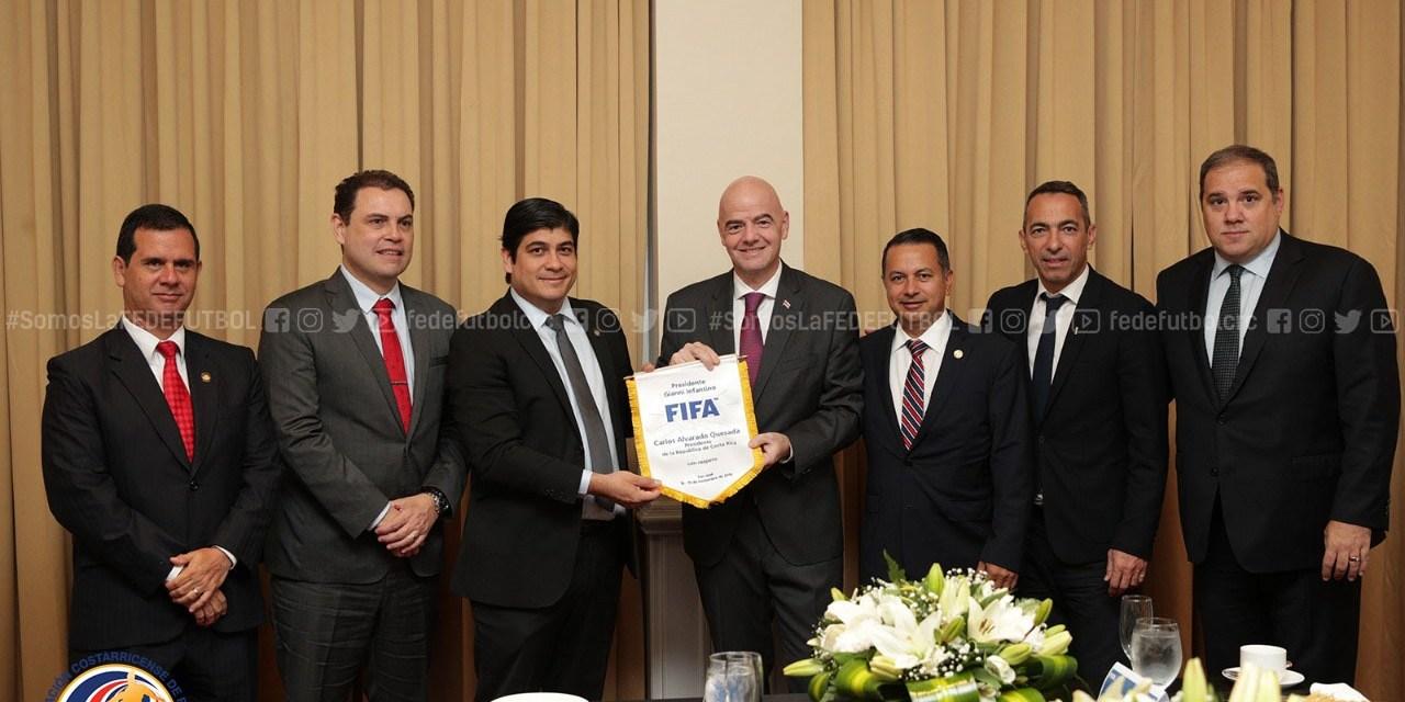 FIFA ofrece a Costa Rica la organización del Mundial Sub 20 femenino del 2020