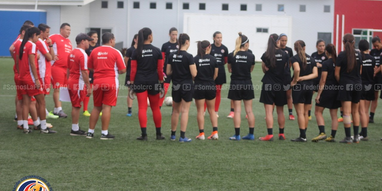 Sub 20 femenina participará de torneo en Guatemala