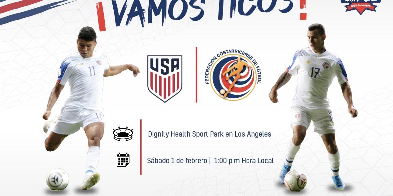 La Sele jugará el 1 de febrero ante Estados Unidos