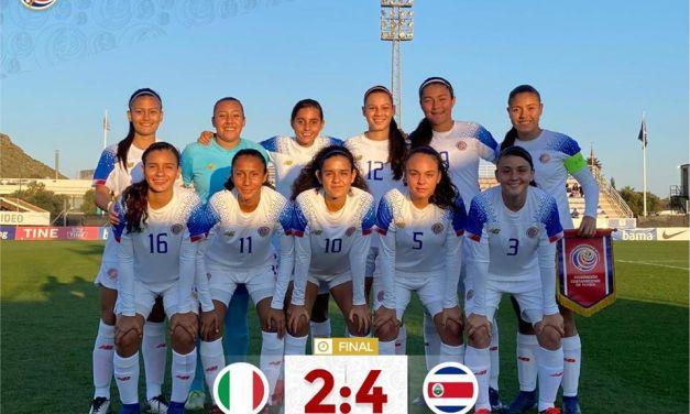 La Sub 17 femenina le ganó a Italia