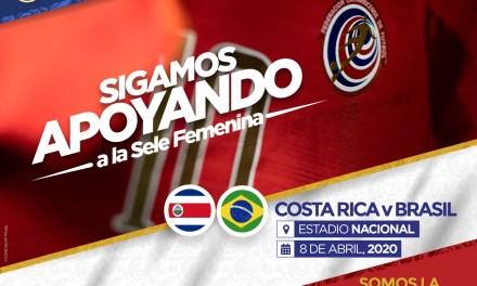 La Sele femenina recibirá a Brasil en el Estadio Nacional