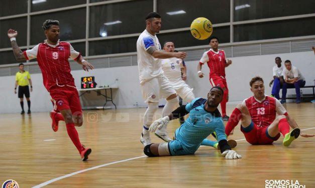 Costa Rica golea a Cuba en fútbol sala