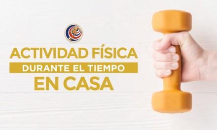Mantengamos la actividad física en tiempos de estar en casa