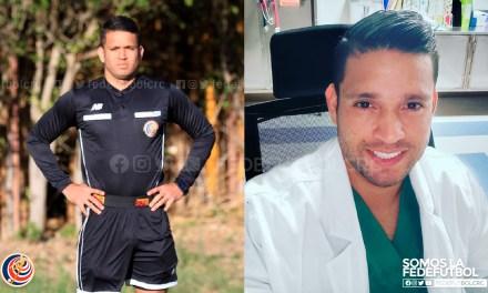 David Gómez, el árbitro que le saca tarjeta roja al coronavirus