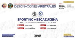 Arbitros Final Ascenso