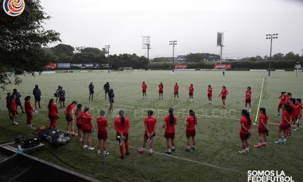 Sub-20 femenina inició su quinta semana de entrenamientos