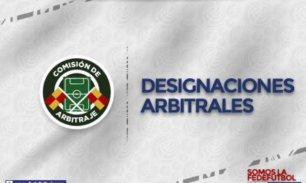 Designaciones arbitrales para la jornada 14 de Primera