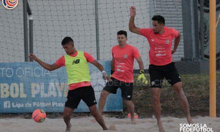 Selección de Fútbol Playa se fogueará en El Salvador