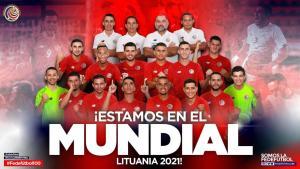 Felicitacion Clasificacion de Sala al Mundial de Lituania 2021
