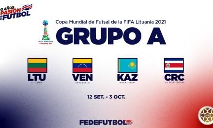 Lituania, Venezuela y Kazajistán: rivales de la Sele de Fútsal en el Mundial